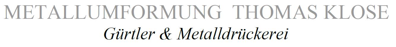 Metallumformung Thomas Klose